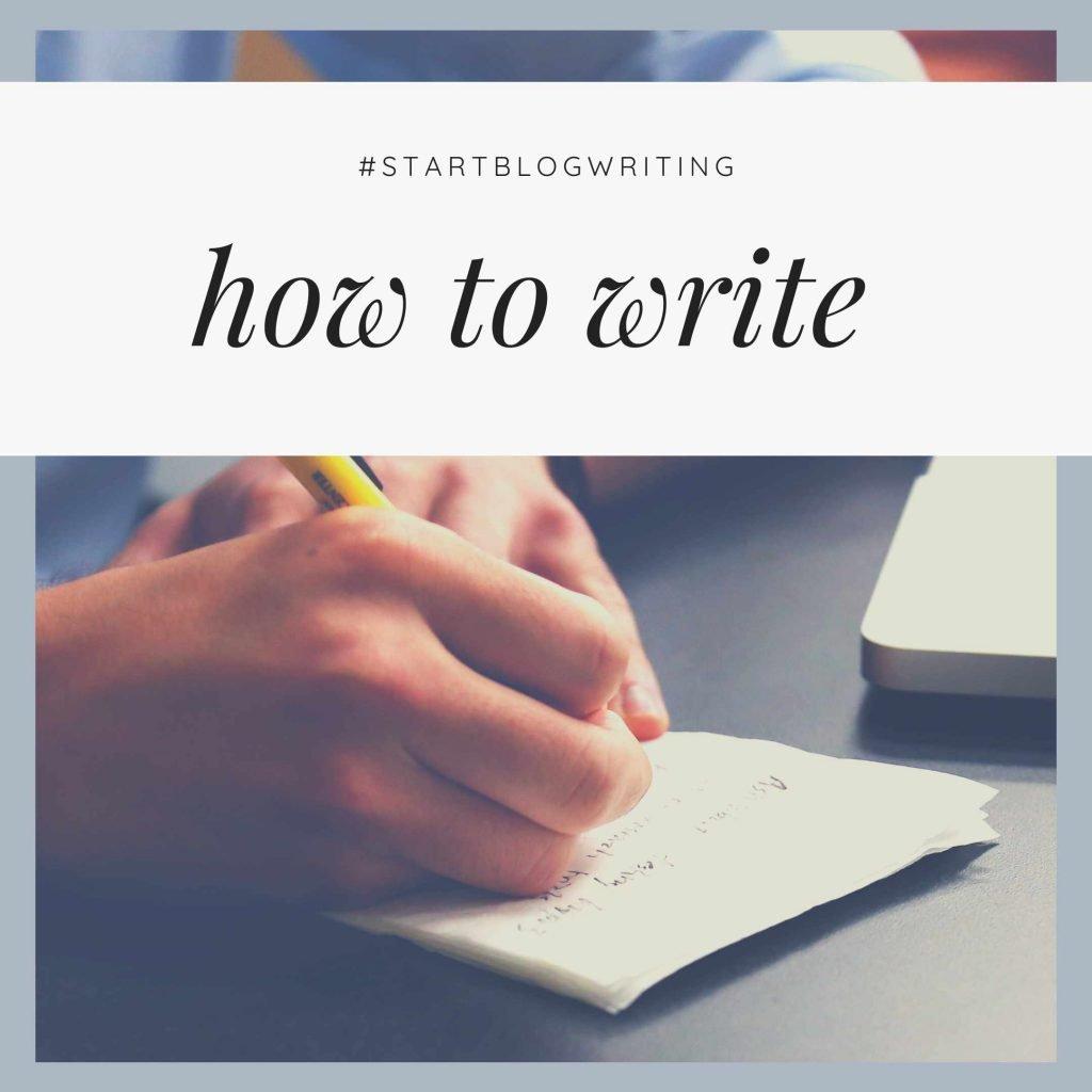 write posts